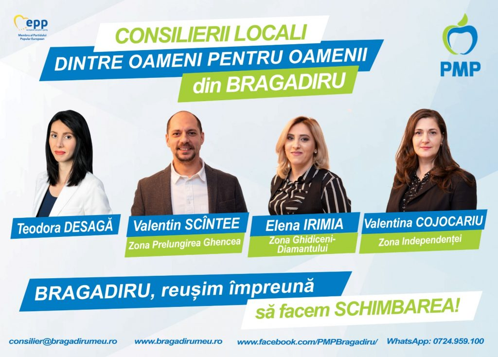 Consilierii Locali PMP Bragadiru